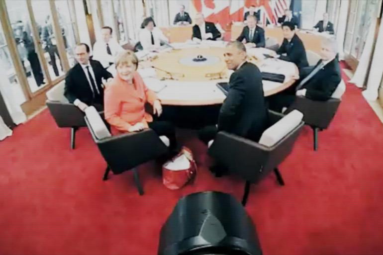 Un photographe dévoile une vidéo coulisse du sommet du G7