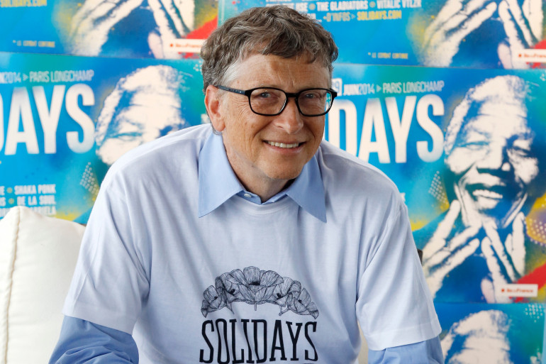 Bill Gates était déjà venu à Solidays en 2014