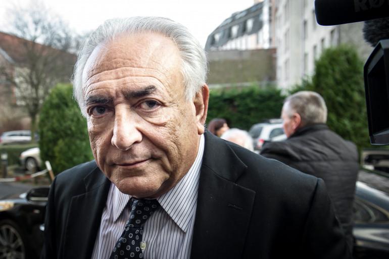 Dominique Strauss-Kahn au tribunal de Lille le 17 février 2015 (archive).