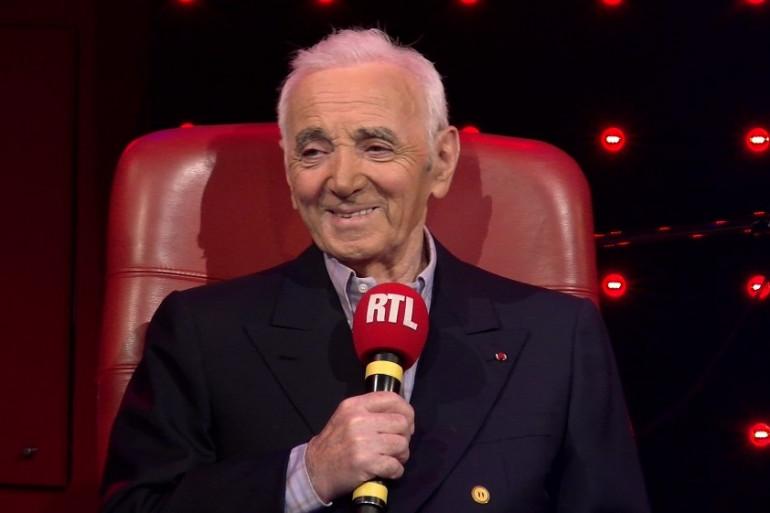 """VIDÉO - """"Échange Public"""" avec Charles Aznavour"""