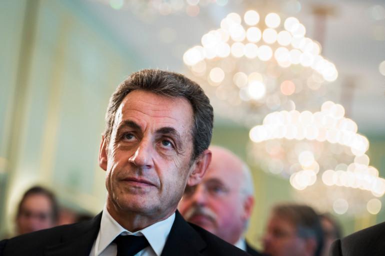 Nicolas Sarkozy le 12 juin 2015 à Berlin.