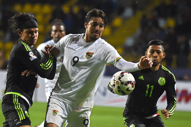 Marcelo Martins et la Bolivie ont bousculé le Mexique
