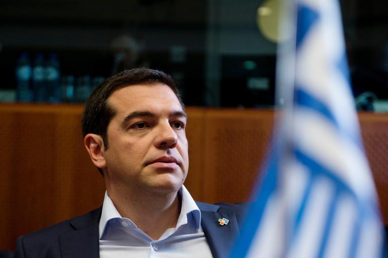 Le Premier ministre grec Alexis Tsipras le 10 juin 2015.