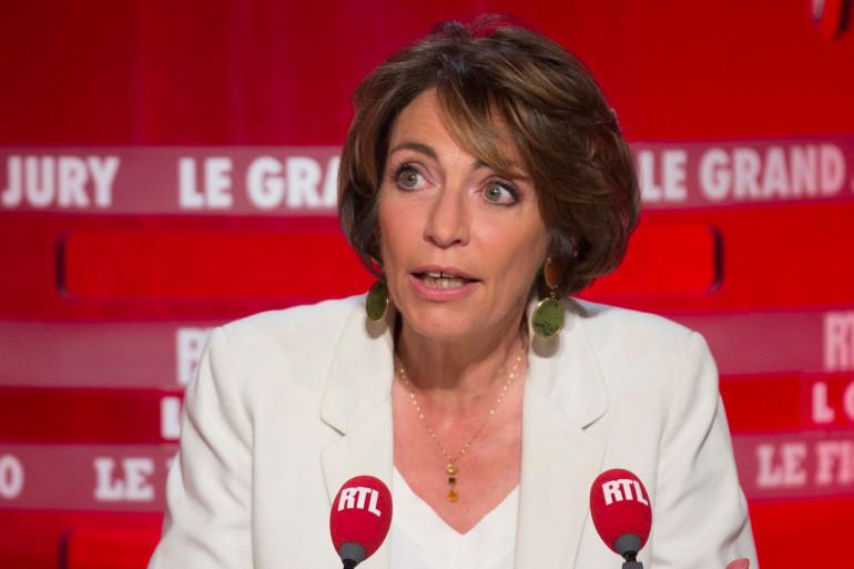 Marisol Touraine, lors du Grand Jury le 14 juin 2015