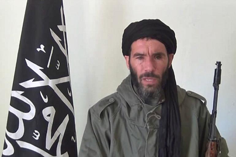 L'ex-chef d'Aqmi, l'islamiste algérien Mokhtar Belmokhtar, le 17 janvier 2013
