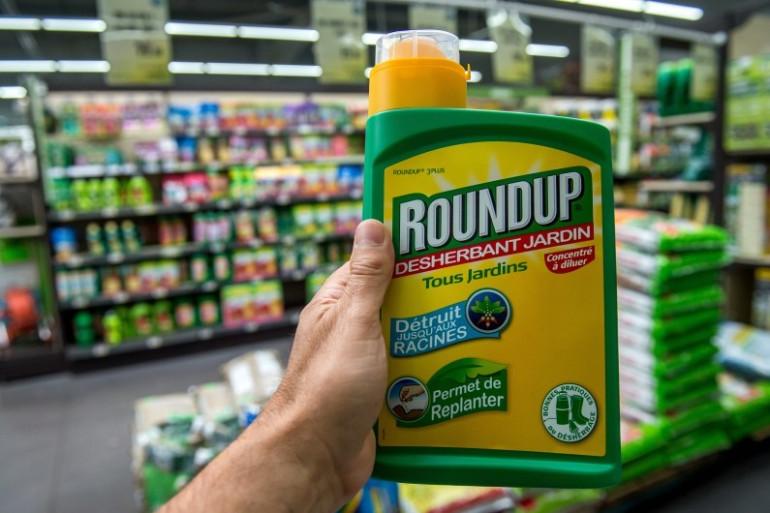 Le désherbant Roundup