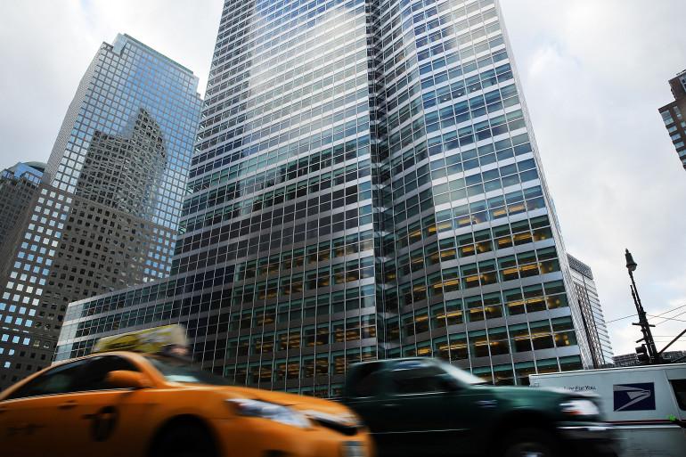 Le siège de Goldman Sachs à Manhattan