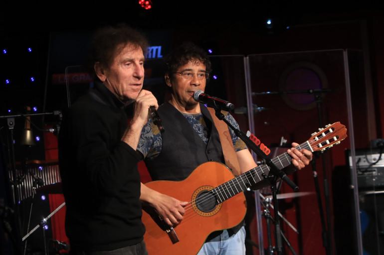 Alain Souchon et Laurent Voulzy dans Le Grand Studio RTL