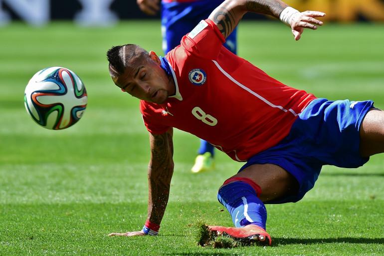 Le Chilien Arturo Vidal a été arrêté après un accident