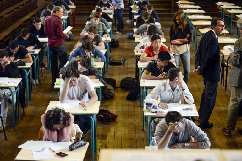 Des lycéens passent le baccalauréat (illustration).