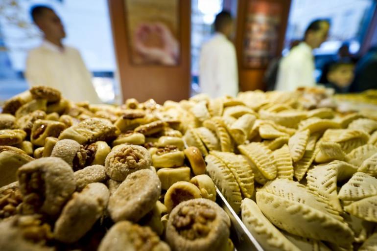 Des plats traditionnels pour marquer la rupture du jeûne du Ramadan, le 30 août 2011