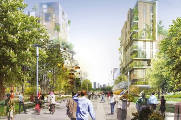 """Le """"Central Park"""" du Grand Paris imaginé par l'architecte Roland Castro"""