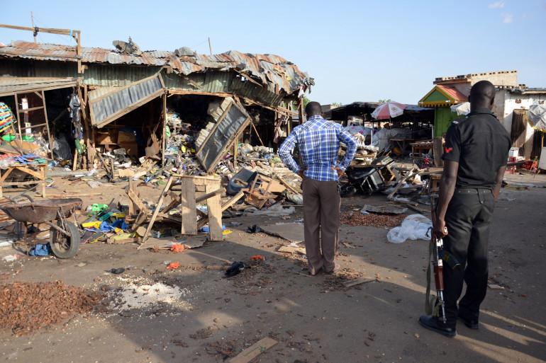 L'attentat-suicide de Maiduguri, le 22 juin 2015