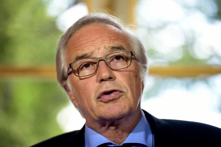 François Rebsamen le 1er juin 2015 à Matignon.