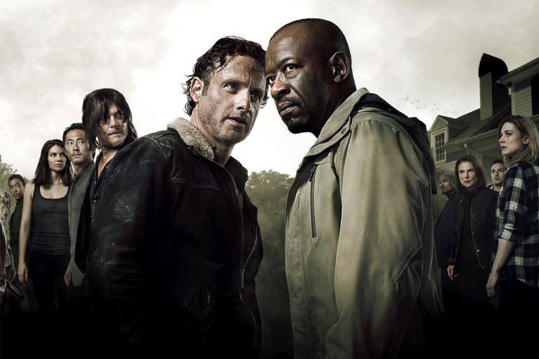 """La bannière de """"The Walking Dead"""" pour le Comic-Con"""