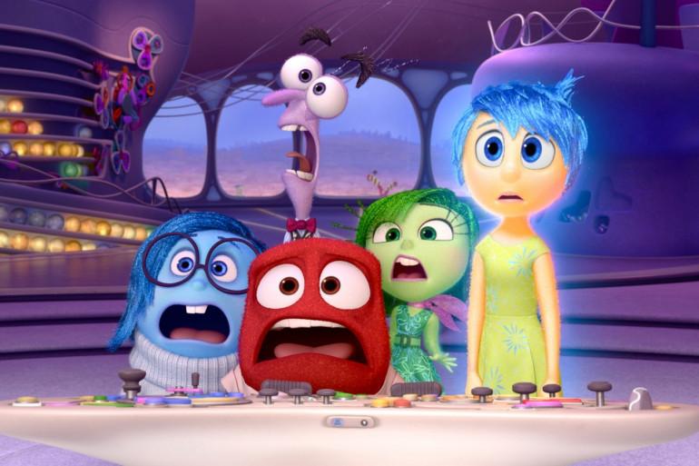 """Cinq émotions sont au casting de """"Vice Versa"""", le dernier Pixar"""