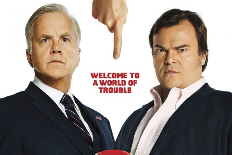 """Les deux personnages principaux de """"The Brink"""" sont interprétés par Tim Robbins et Jack Black"""