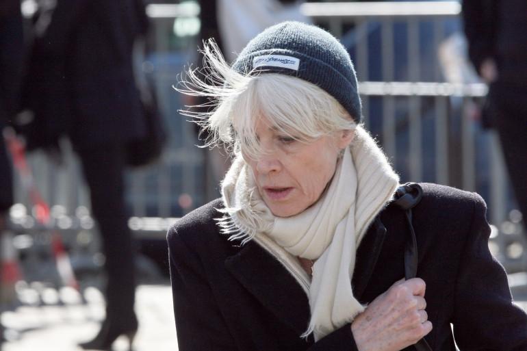 Françoise Hardy, en mars 2009