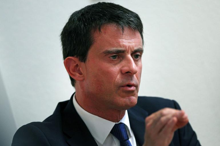 Manuel Valls à Francfort (Allemagne) le 23 juin 2015.