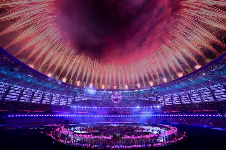Cérémonie de clôture des Jeux européens à Bakou