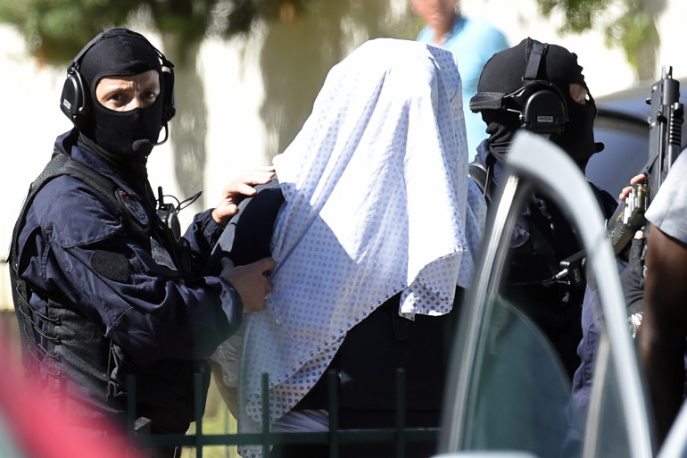 Yassin Salhi, l'auteur de l'attentat de Saint-Quentin-Fallavier, a été transféré à Levallois-Perret.