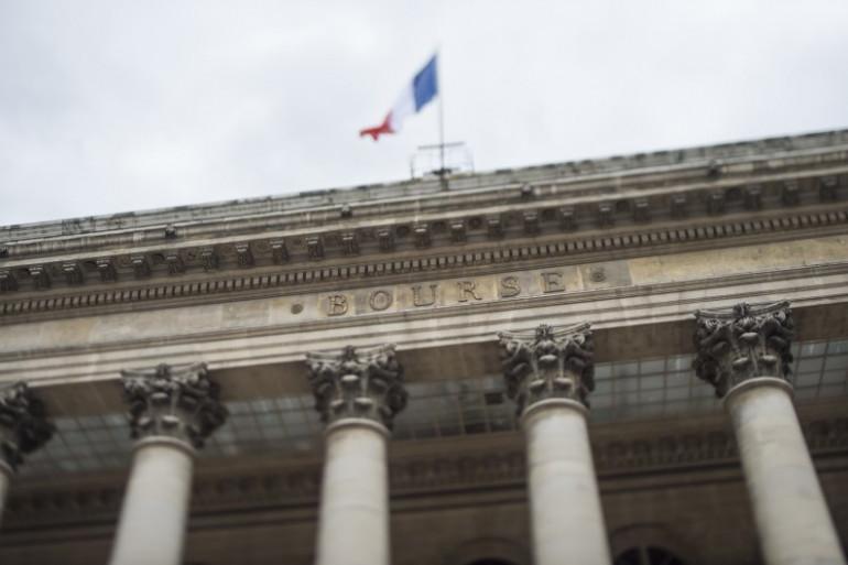 La Bourse de Paris (illustration)