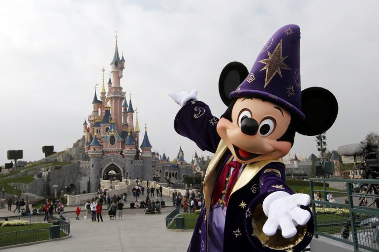 Le parc Disneyland Paris (illustration)