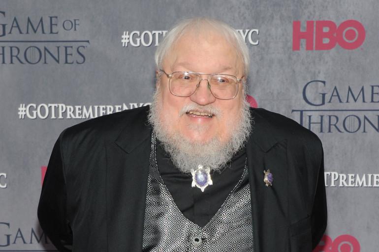 George R. R. Martin est l'auteur de la saga à succès Game of Thrones (illustration)