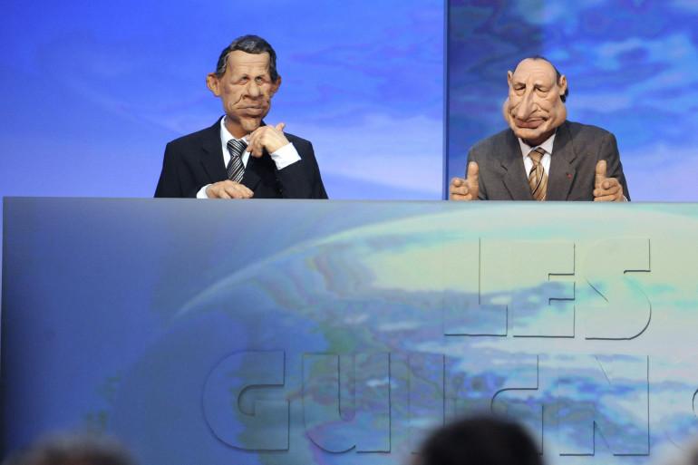 """Les Guignols de l'Info, émission phare de """"Canal+"""""""