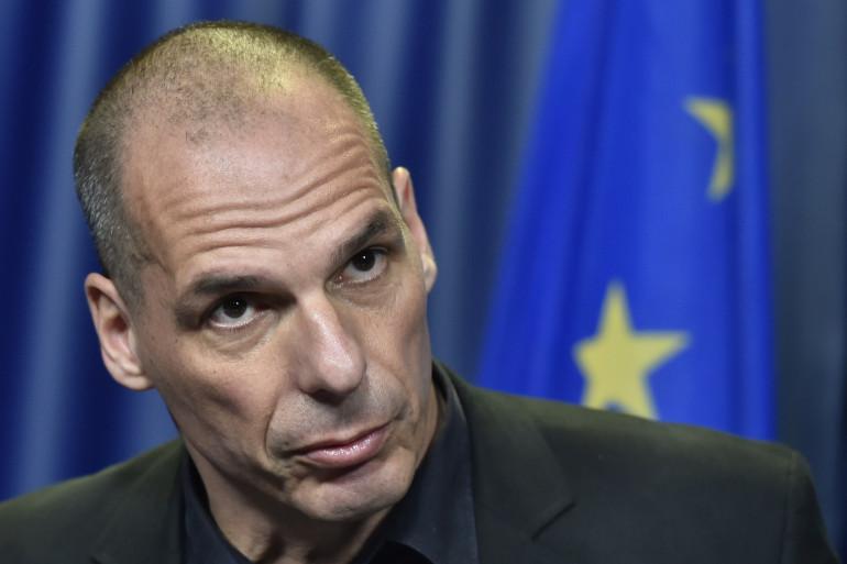 """""""Ce qu'ils font avec la Grèce à un nom terrorisme"""", a déclaré le ministre grec des finances, Yanis Varoufakis"""
