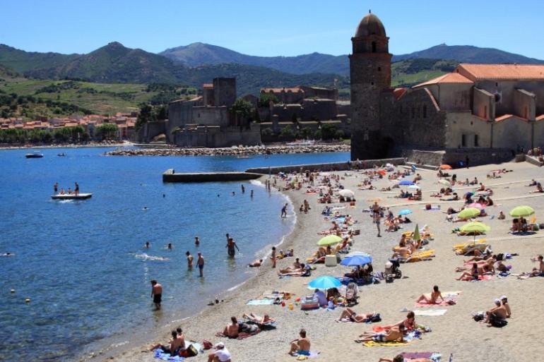 La plage de Collioure, dans les Pyrénées-Orientales (image d'illustration)