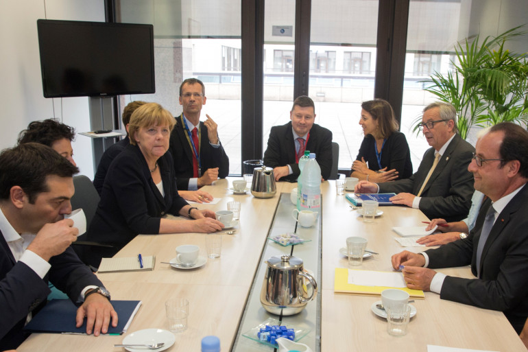 La réunion au sommet du 7 juillet 2015 à Bruxelles