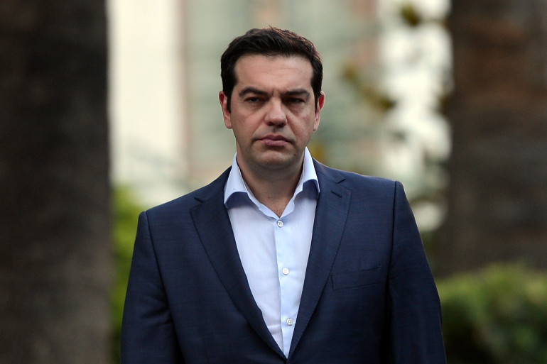 Le Premier ministre grec Alexis Tsipras le 6 juillet 2015.