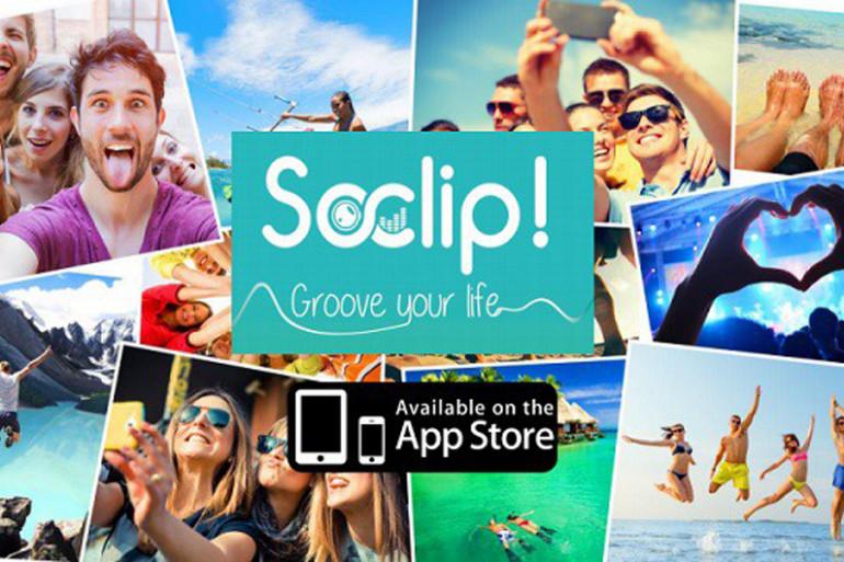 """""""SoClip!"""", l'application pour créer son propre clip vidéo"""