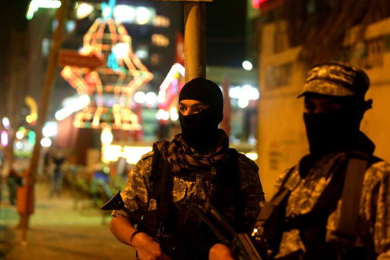 Les membres de brigades Ezzedine al - Qassam, la branche armée du mouvement Hamas, le 29 juin 2015 (Illustration)