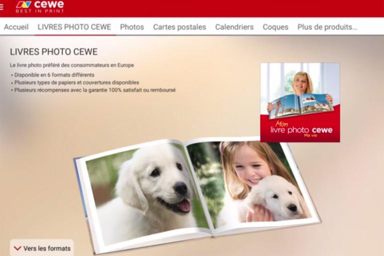 """""""CEWE photo"""", l'application des cartes postales personnalisées"""