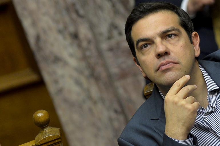 Le Premier ministre grec Alexis Tsipras le 11 juillet 2015.