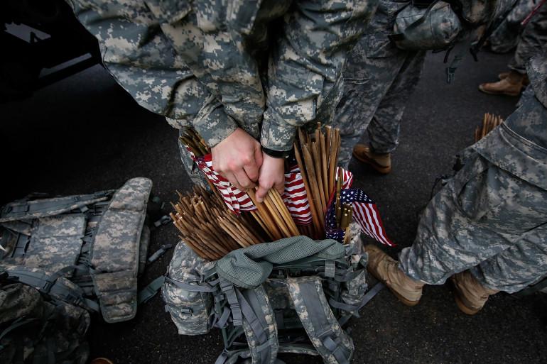 Des membres de l'armée américaine (illustration)