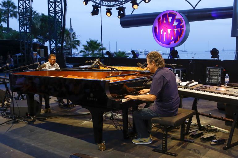 Hancock et Corea piano contre piano