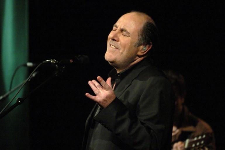 Michel Delpech le 7 février 2005 au Bataclan, à Paris
