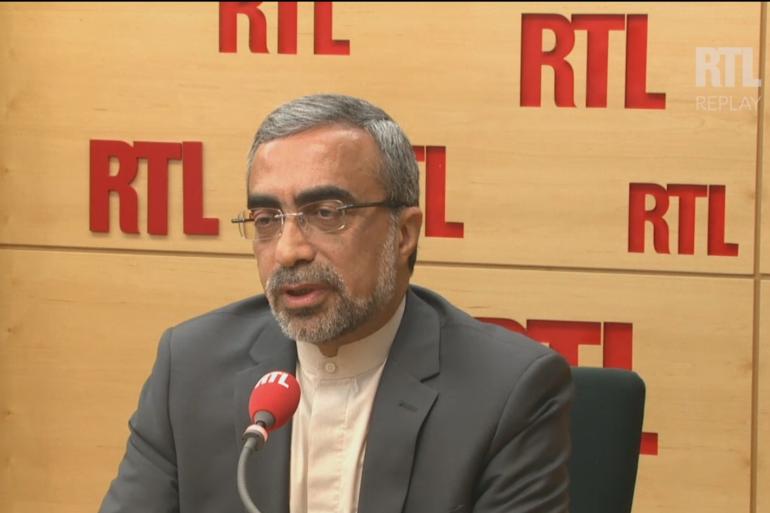 Ali Ahani, l'ambassadeur iranien à Paris