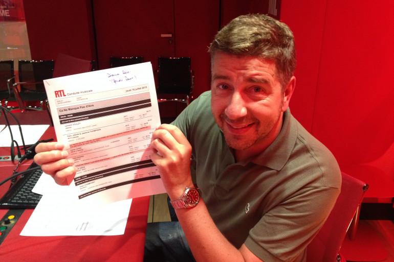 Jean-Michel Zecca est aux commandes de Ca Ne Manque Pas d'Airs sur RTL !
