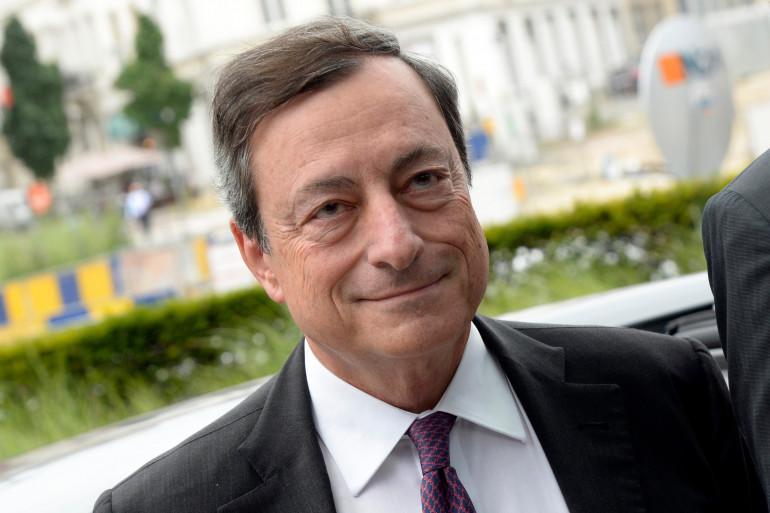L'ancien président de la BCE Mario Draghi le 7 juillet 2015 à Bruxelles.