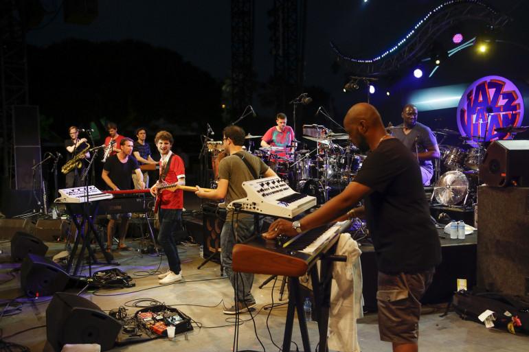 Snarky Puppy à Juan le 15 juillet - crédit Gilles Lefrancq OT Antibes