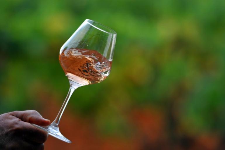 Le vin rosé est la star de l'été
