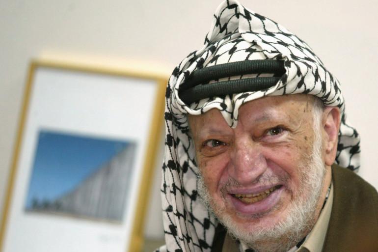 Yasser Arafat, en 2004