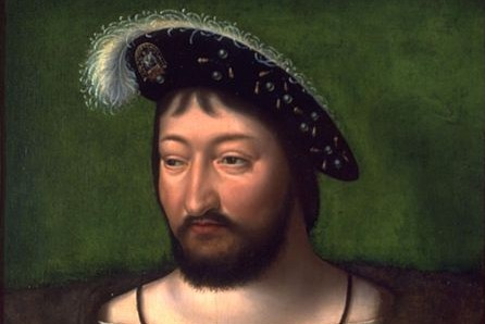 Portrait du roi François Ier par le peintre néerlandais Joos van Cleve