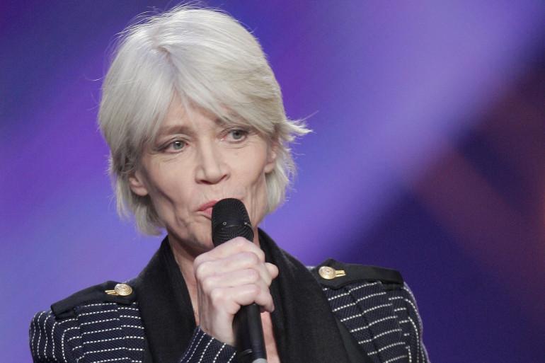 Françoise Hardy aux Victoires de la musique en mars 2005 (archive).