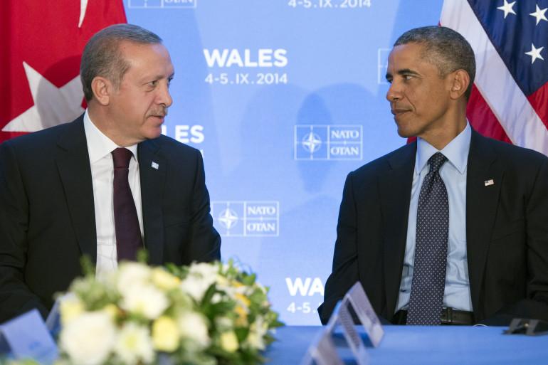 Barack Obama et Recep Tayyip Erdogan, en septembre 2014
