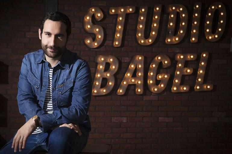 Le fondateur du Studio Bagel, Lorenzo Benedetti, le 17 décembre 2014